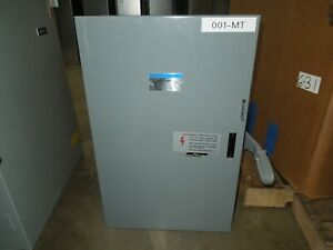 Gould Nf324dt 200a 3p 240vac Double Throw Non fusible Manual Transfer Switch