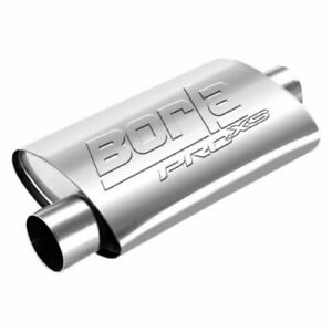 Borla 40659 19 Proxs Stainless Steel Oval 2 5 Center Inlet offset Out Muffler