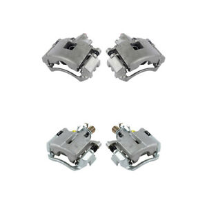 Front And Rear Brake Calipers For Buick Allure Lacrosse Chevy Impala Grand Prix