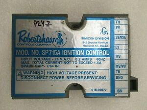 Robertshaw Sp715a Ignition Control Module 018 00077 Used Free Shipping p247