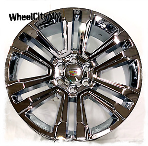 26 X10 Inch Chrome 2017 2018 Cadillac Escalade Oe Replica 5822 Wheels 6x5 5 30