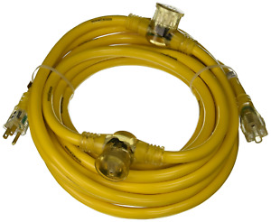 Yellow Jacket 2830 Woods Stw Adapter Cord With 3 outlet Lighted Power Block 3