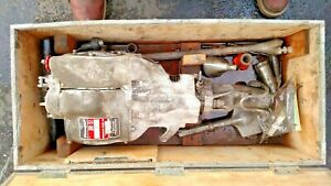 Working Pionjar B 51 Bergman Borr Portable Power Rock Drill And Tooling And Case