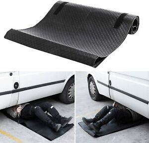 Workshop Creeper Pad Mat Black Zero Ground Clearance For Auto Truck Car Repair