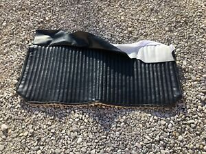 New Ford 1968 Mustang Shelby Fastback Standard Back Seat Top Upholstery Black
