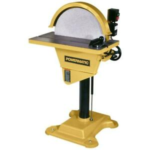 Powermatic-1791264 DS20 20In Disc Sander. 3HP 3PH 230460V