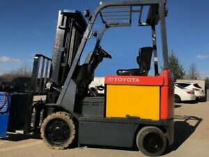 Toyota Forklift toyota Electric Model 7fbcu25 Forklift 5500 Lp sideshift