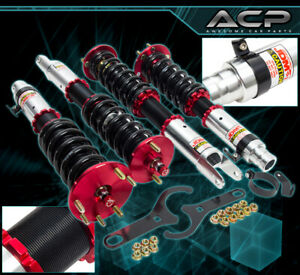 For 09 15 Tsx 12 Accord Jdm Sport Adjustable Coilover Lowering Spring Assembly