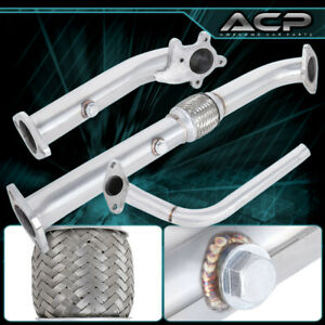 For 89 97 Mitsubishi Mirage 1 5l T3 Turbo Downpipe Stainless Steel Flex Pipe