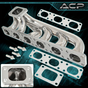 For 1992 1999 Bmw E36 Stainless Steel T3 T4 Flange Turbocharger Manifold Exhaust