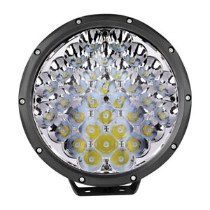 9 320w Round Led Driving Spot Lights Off Road Bumper Work Lamp Pods Truck 4wd