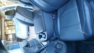 04 10 Nissan Titan Front Split Bench Seat Rear Black Leather Power