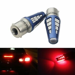 2x 1156 Ba15s 48 Smd Bulb Led Sidelight Indicator Reverse Tail Stop Brake Light