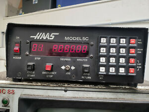 Haas 5c 7 Pin Rotary Indexer With Manual Closer And Controller
