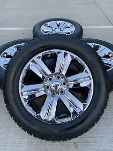 20 20 Inch Ford F 150 Lariat Oem 2019 Rims Wheels Tires Chrome 2018