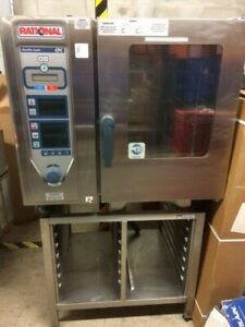 Rational Full Size Steamer Oven Climaplus Cpc With Stand