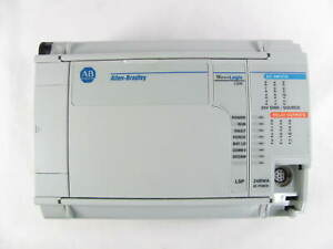 Allen Bradley Micrologix 1500 1764 24bwa Base With 1764 lsp Processor Used