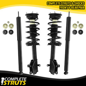 2007 2010 Lincoln Mkx Front Quick Complete Struts And Rear Shock Absorber Bundle