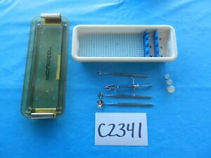 Storz Surgical Ophthalmic Instruments W Case