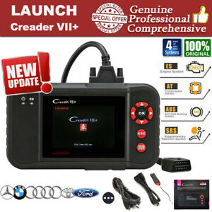 Launch X431 Creader Vii Obd2 Diagnostic Scanner Auto Car Code Reader Abs Airbag