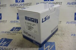 1hp 240 Volt 1 Phase Vfd Variable Frequency Drive Ls Lslv0008m100 1e0fna New