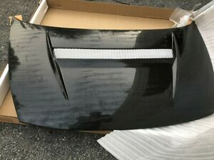 2006 2010 Honda Civic 4dr Sedan Carbon Fiber Hood E242