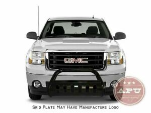 Apu 19 20 Chevy Silverado Gmc Sierra 1500 Black Bull Bar Bumper Brush Guard