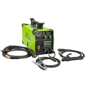 Welder 120 Volt 140 Amp Easy Weld Multi Process Integrated Handle W Torch Wrap