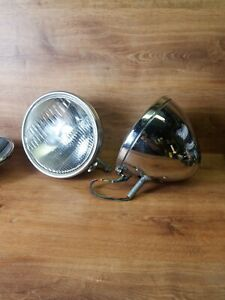 Vintage Ford Twolite Headlights Pair Hot Rod Rat Rod