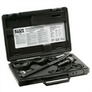 Klein Tools 53732sen Knockout Punch Set With Wrench