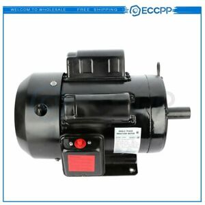 5 Hp Air Compressor Duty Electric Motor 184t Frame 1725 Rpm Single Phase