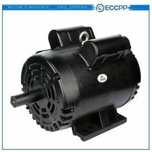 3 Hp Air Compressor Duty Electric Motor 184t Frame 1750 Rpm Single Phase 60 Hz