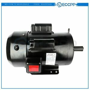 7 5 Hp Air Compressor Duty Electric Motor 215t Frame 1760 Rpm Single Phase 60 Hz