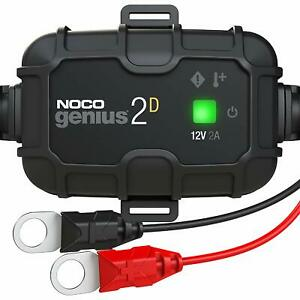 Noco Genius 2d Direct mount 2a Battery Charger And Maintainer 12v