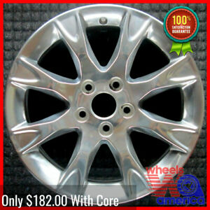 Wheel Rim Ford Fusion 17 2011 2012 Be5z1007a Be5j1007aa Factory Polished Oe 3856