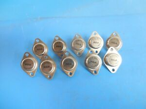 Rca Rca1b01 Npn Power Transistors lot Of 10