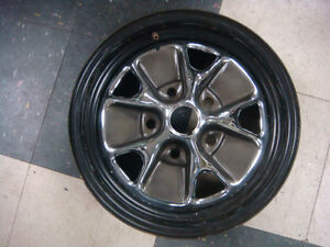 Brand New 14 X 5 5 Rally Wheel Ford Pattern Rally Rim 5 Lug Mustang Fastback