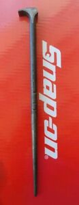 Snap On Tools 16 Long Rolling Head Lady Foot Prybar 1650 Ships Free
