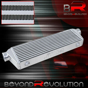 Front Mount Turbo Intercooler Bar And Plate 28 X 7 W 2 5 Inlet Outlet