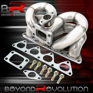 B Series For 88 00 Civic 94 01 Integra Bottom Mount T3 Turbo Exhaust Manifold