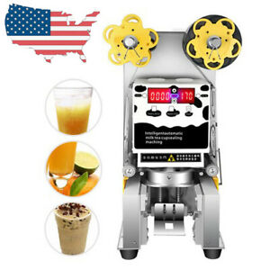 Best Electric Automatic Cup Sealer Sealing Machine Tea Milk Coffee From Us