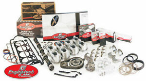 Chevy 350 Master Engine Rebuild Kit With Flat Top Pistons