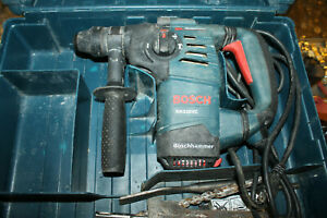 Bosch Rh328vc 1 1 8 Sds Plus Corded Rotary Hammer Drill With Factory Case bits