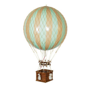 Hot Air Balloon Model Mint Green 13 Aviation Hanging Ceiling Home Decor New