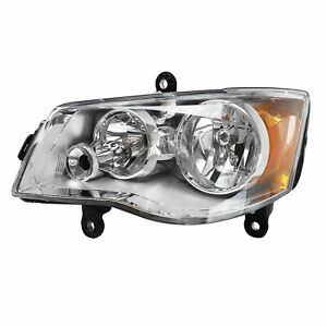 Headlight Left For 2011 17 Dodge Grand Caravan 2008 16 Chrysler Town