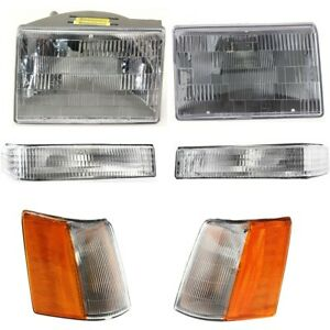 Auto Light Kit Left And Right Lh Rh For Jeep Grand Cherokee 1997 1998