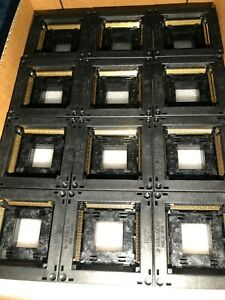 Sealed 12 Pack Yamaichi 208 Pin Socket Ic201 029 ac 04476a see Datasheet
