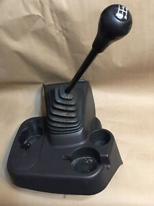 98 01 Dodge Ram Truck 5 6 Speed Floor Shifter Console Boot Cup Drink Agate