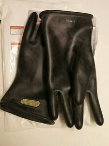 New Ansell Marigold Rubber Insulating Glove black Size 12 11 Class 00
