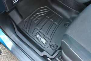 Toyota Tundra Double Cab 2007 2011 Sure Fit Floor Mats Liners Front Black